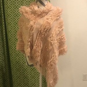 Marc New York Pink Poncho